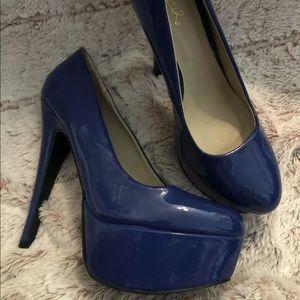 Quipid Platform Stiletto Heels